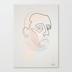 One Line Leon  Canvas Print