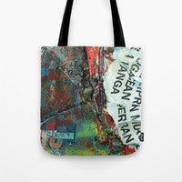 Layered 2 Tote Bag