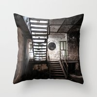industrial ruins III. Throw Pillow