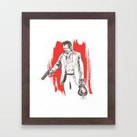 Bennie Framed Art Print