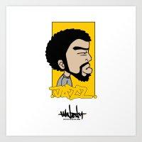 Hain Teny Jazz Art Print