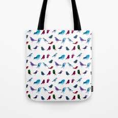 Birds Society Tote Bag