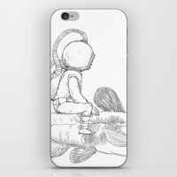 Aqua iPhone & iPod Skin