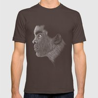 Mohamed Ali Mens Fitted Tee Brown SMALL