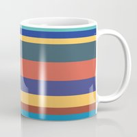 Color Band 70's - B - Stripe Mug