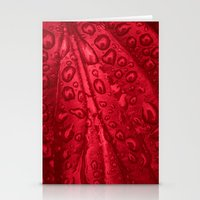 red passion I Stationery Cards