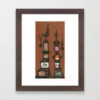 I Love You, Hundertwasser #5 Framed Art Print