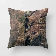 Tales from the trees 3 Throw Pillow