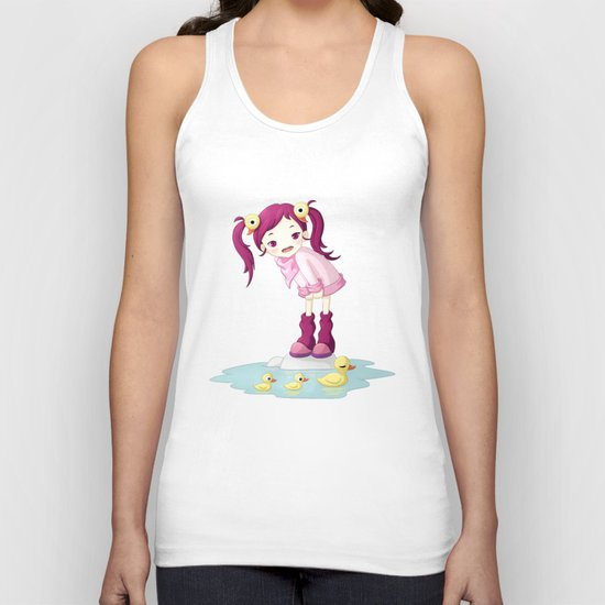Puddle Ducks Unisex Tank Top