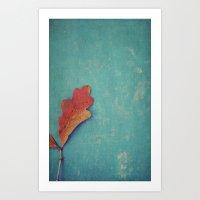 Autumn Color, Autumn Light Art Print