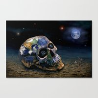Save our World 16 Canvas Print