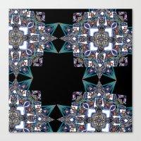 Internal Kaleidoscopic D… Canvas Print