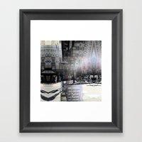 Summer space, smelting selves, simmer shimmers. 09 Framed Art Print