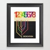 Dedication (8 Days) Framed Art Print