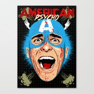 Canvas Print featuring Captain Bateman by Butcher Billy