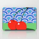 Fruit with Wallpaper (cherry) iPad Case