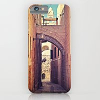 iPhone & iPod Case featuring Jerusalem Alley by Around the Island (Robin Epstein)