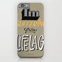 iPhone & iPod Case featuring lifelag by randy mckee