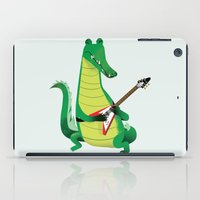 Crocodile Rock iPad Case