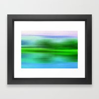 EARTH POEM Framed Art Print