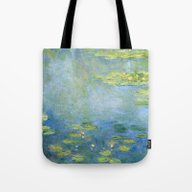 Water Lilies 1906 By Cla… Tote Bag