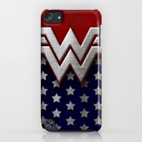 """iPod Touch Cases featuring Wonder """"New 52"""" Woman by Some_Designs"""