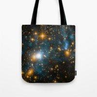 Cosmos 2, When Stars Col… Tote Bag