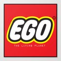 EGO - The Living Planet Canvas Print