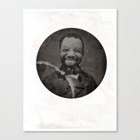 Baronial Indigene No. 2: Chuck Canvas Print
