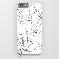 Doves flying iPhone 6 Slim Case