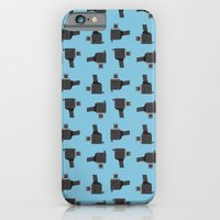 iPhone & iPod Case featuring camera 03 pattern by Thefunctionalfox