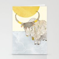 Yak Stationery Cards
