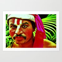 The Ramayana Actor Art Print