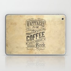 Coffee - Typography V2 Laptop & iPad Skin