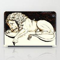 Comic Art: Brave Soul iPad Case