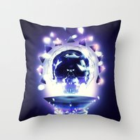La Mort et la Vie Throw Pillow