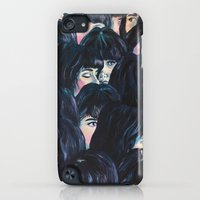 iPod Touch Cases featuring What are you seeing? by Katty Huertas