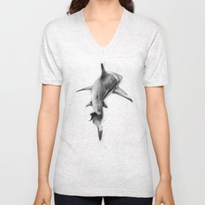 Shark II Unisex V-Neck