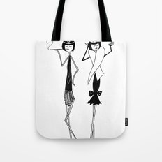 Night on the town Tote Bag