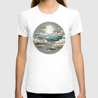 funny T-shirts featuring Ocean Meets Sky by Terry Fan