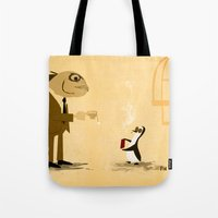 Fishface And The Blue Pe… Tote Bag
