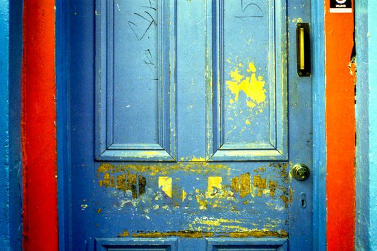 Primary Door Art Print