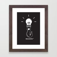 Ideas Catcher 1 Framed Art Print