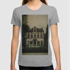 A Hollow Home Womens Fitted Tee Athletic Grey SMALL