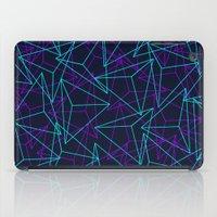 Abstract Geometric 3D Tr… iPad Case