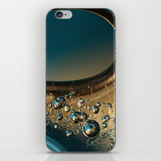 Ice Blue iPhone & iPod Skin