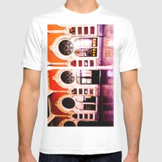 Beautiful station. Mens Fitted Tee White SMALL