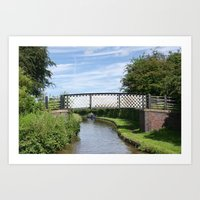 Whitley Bridge Art Print