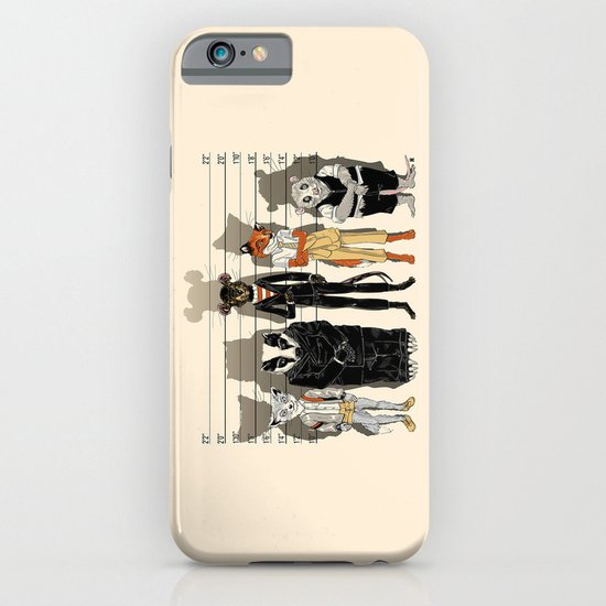 Unusual Suspects iPhone & iPod Case