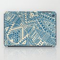 Tribal (blue)  iPad Case